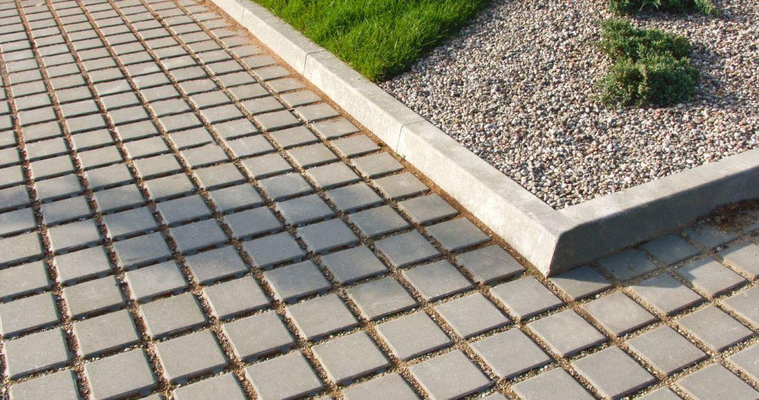 nawierzchnia betonowa ekologiczna eko szary