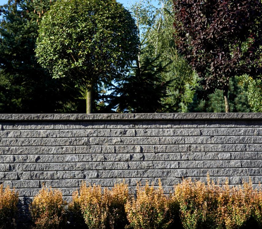 Mur Oslo Pozbruk Ogrodzenie betonowe