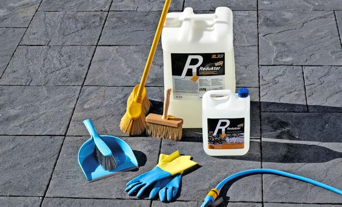 reduktor środek do czyszczenia i konserwacji i kostki brukowej