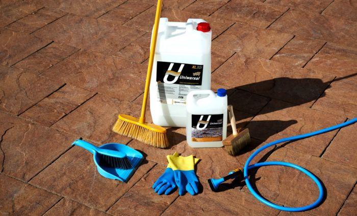 preparat do czyszczenia kostki brukowej