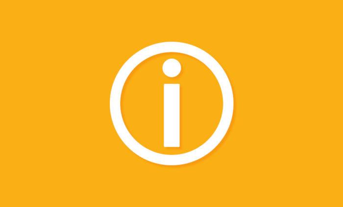 ikona komunikatu