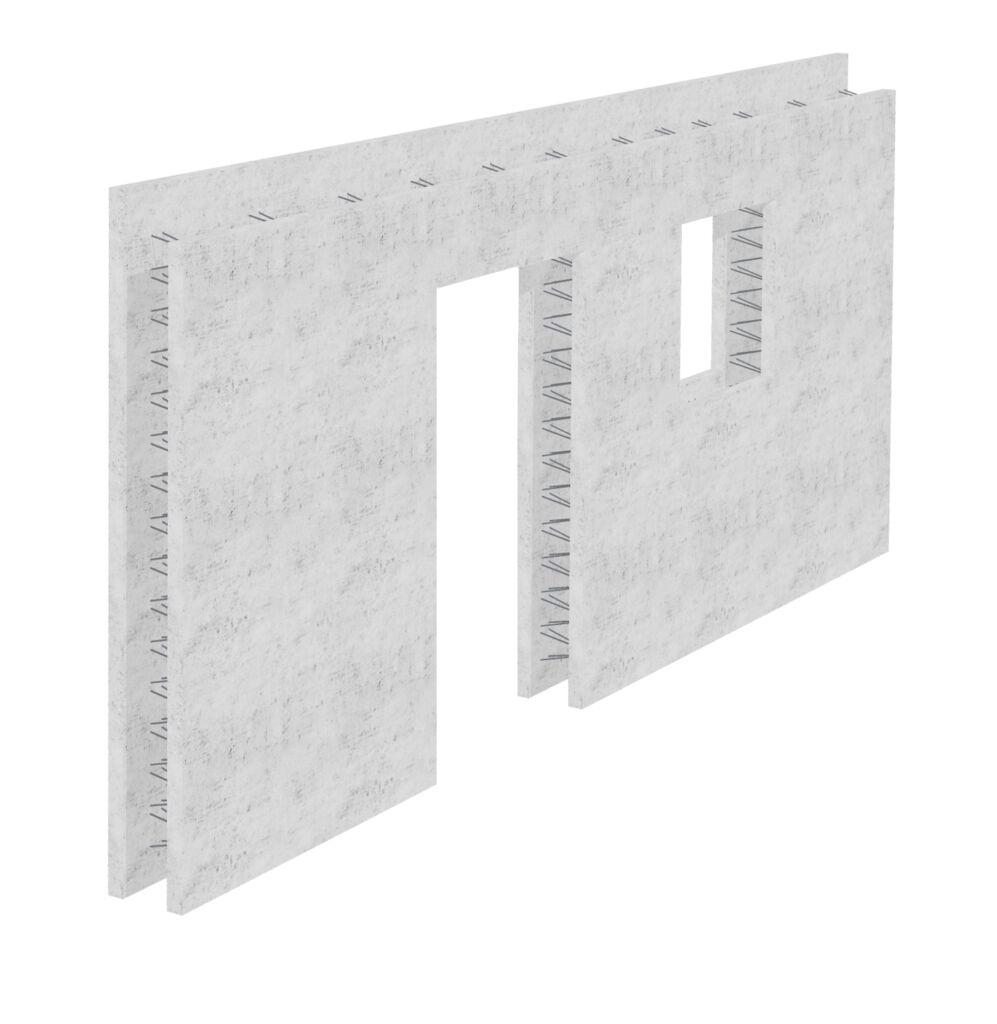 Ściana prefabrykowana z betonu