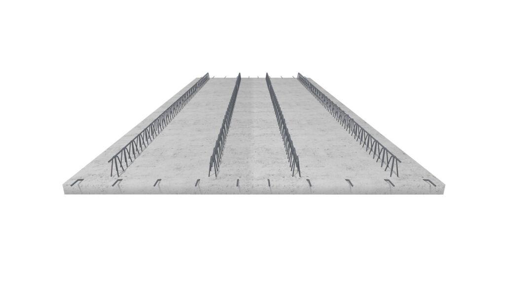 Betonowe płyty prefabrykowane filigran